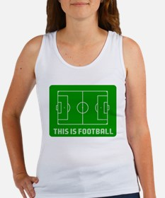 This Is Football Tank Top