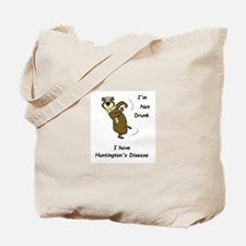 Not Drunk - Huntington's Disease Tote Bag
