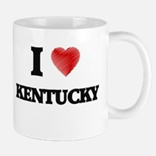 I Love Kentucky Mugs