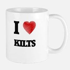 I Love Kilts Mugs