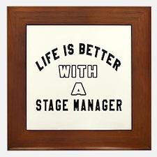 Stage Manager Designs Framed Tile