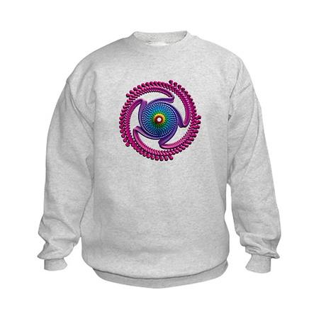 Spiral Candy2 Kids Sweatshirt