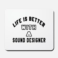Sound Designer Designs Mousepad