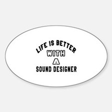 Sound Designer Designs Decal