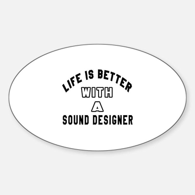 Sound Designer Designs Decal