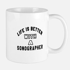 Sonographer Designs Mug