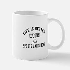 Sports Announcer Designs Small Small Mug