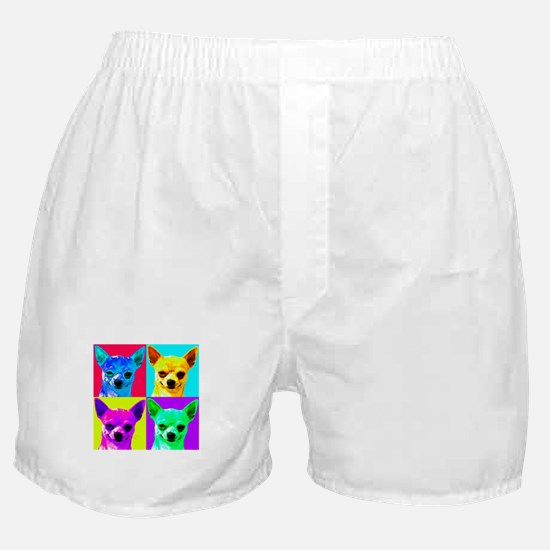 My Chihuahua Walks All Over Me Boxer Shorts