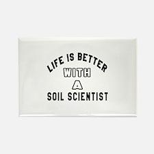 Soil Scientist Designs Rectangle Magnet