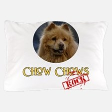 Chow Chows Rock Pillow Case