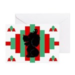 Old English Sheepdog Christmas Cards (Pk of 10)