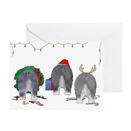 Old English Sheepdog Greeting Cards (Pk of 20)