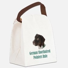 German Shorthaired Pointers Rule Canvas Lunch Bag
