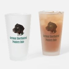 German Shorthaired Pointers Rule Drinking Glass