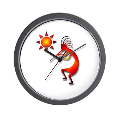 One Kokopelli #24 Wall Clock