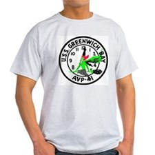 USS Greenwich Bay (AVP 41) T-Shirt