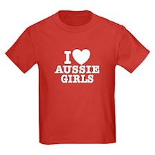 I Love Aussie Girls T