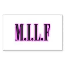 MILF Rectangle Decal