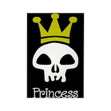 Skull Princess Rectangle Magnet (10 pack)