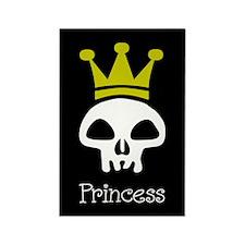 Skull Princess Rectangle Magnet (100 pack)