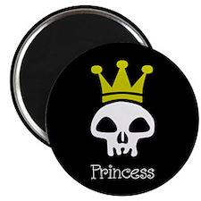 Skull Princess Magnet