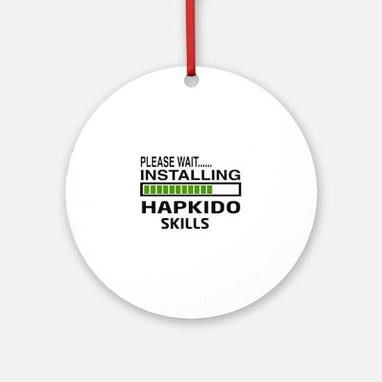 Please wait, Installing Hapkido ski Round Ornament