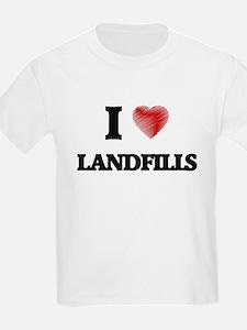 I Love Landfills T-Shirt