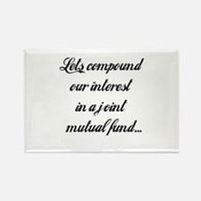 Compound Our Interest Rectangle Magnet