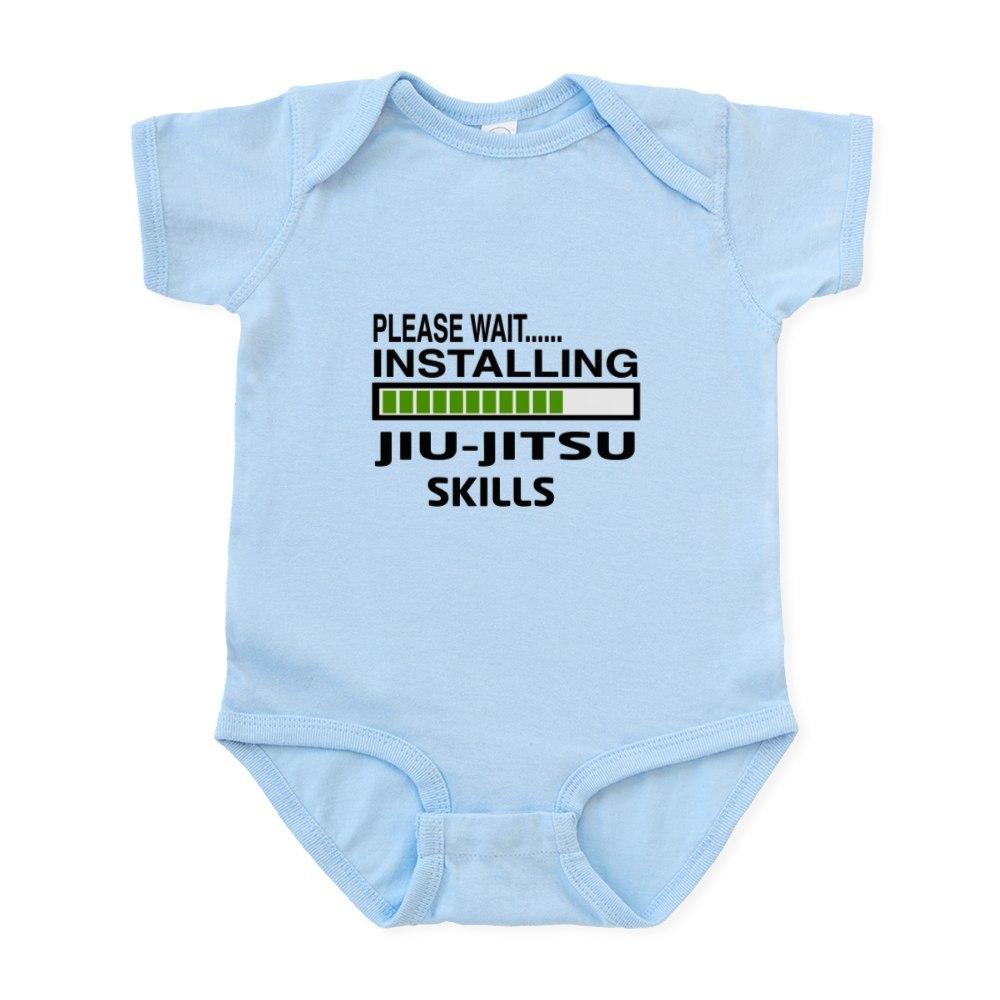 CafePress Please wait, Installing Jiu-Jitsu Infant Bodysuit