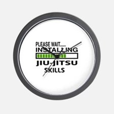 Please wait, Installing Jiu-Jitsu skill Wall Clock