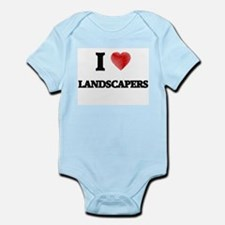 I Love Landscapers Body Suit