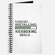 Please wait, Installing kickboxing skills Journal
