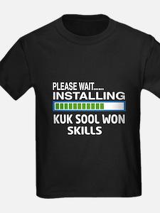 Please wait, Installing Kuk Sool T