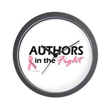 Authors In The Fight Wall Clock