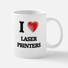 I Love Laser Printers Mugs