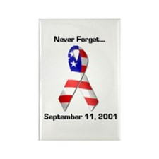 Never Forget Rectangle Magnet (100 pack)