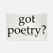 Got Poetry? Rectangle Magnet (10 pack)