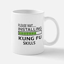 Please wait, Installing Kung Fu skills Small Small Mug