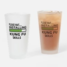 Please wait, Installing Kung Fu ski Drinking Glass