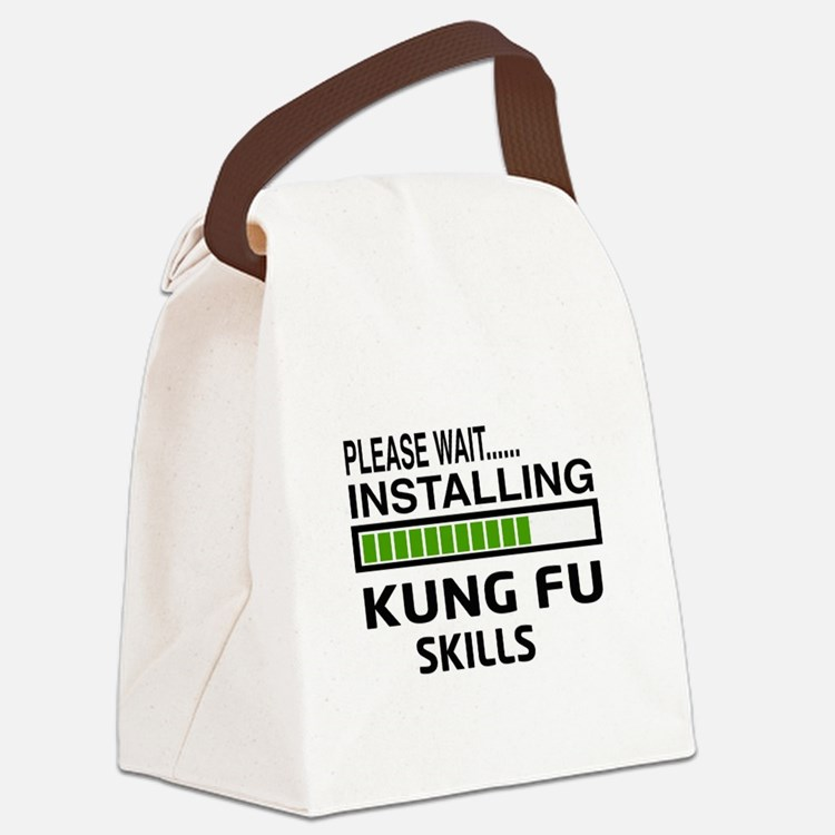 Please wait, Installing Kung Fu s Canvas Lunch Bag