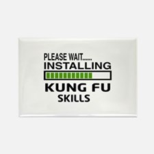 Please wait, Installing Kung Fu s Rectangle Magnet