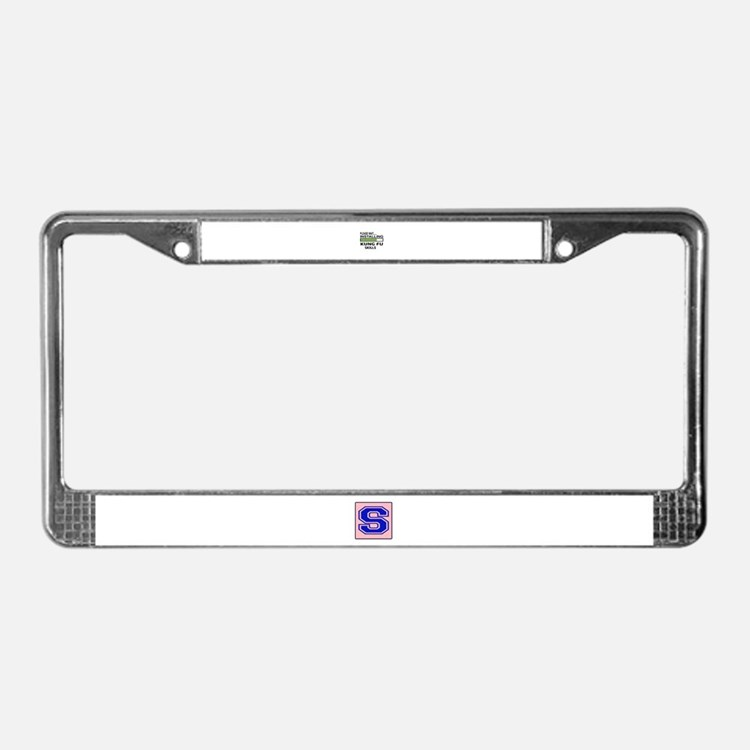 Please wait, Installing Kung F License Plate Frame