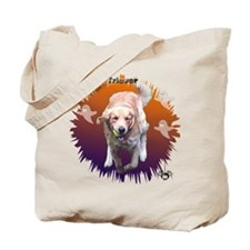 Halloween Golden Retriever 7 Tote Bag