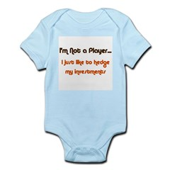 Hedge My Investments Infant Bodysuit