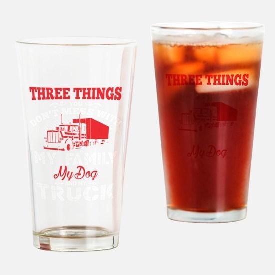 Cute Truck Drinking Glass