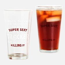 Unique Trucker Drinking Glass