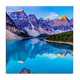 Mountains Tile Coasters