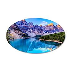 Beautiful Mountain Landscape Wall Sticker