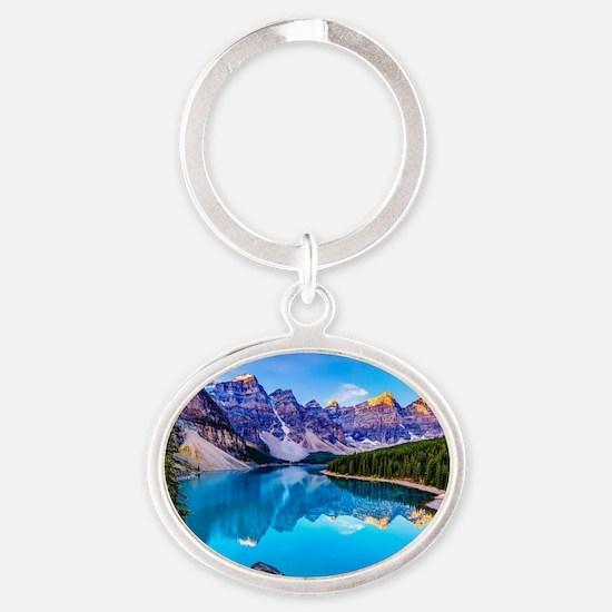 Beautiful Mountain Landscape Keychains