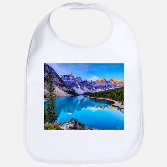 Beautiful Mountain Landscape Bib